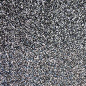 Paillette unterlegt mit Tüll, Bicolor, Schwarz, Silber