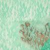 Spitze, florales Muster, Mint