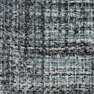 Bouclé, Webstruktur, Schwarz/Weiß