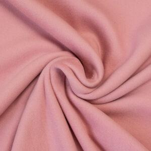 Fleece aus Bio-BW, Uni, Rosé