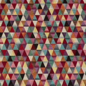 Gobelin, geometrisch gemustert, Bunt