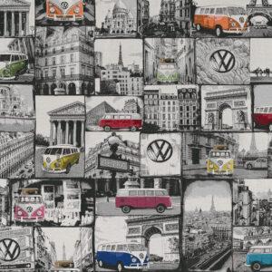 Panama, Fahrzeuge, Schwarz/Weiß, Bunt