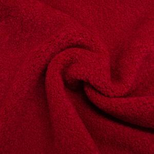 Lammfellimitat, Uni, Rot