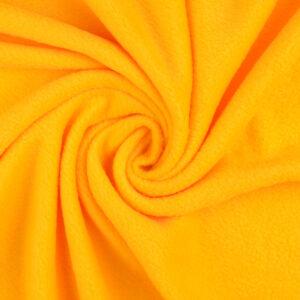 Fleece, uni, Gelb