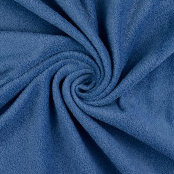 Fleece, uni, Blau