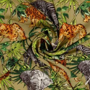 Javanaise, Flora und Fauna, Brauntöne, Grüntöne