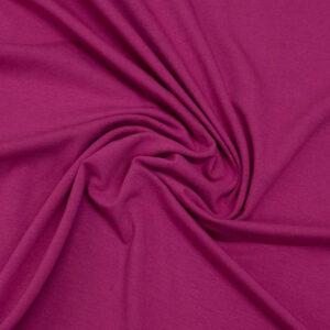 feiner Jersey, uni, Pink
