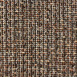 Tweed, Webstruktur, Glanzeffekt, Beigetöne, Brauntöne