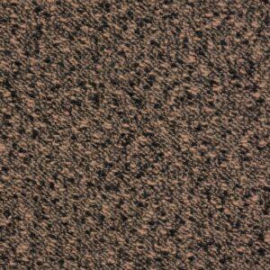Boucléstrick, meliert, Sand, Schwarz
