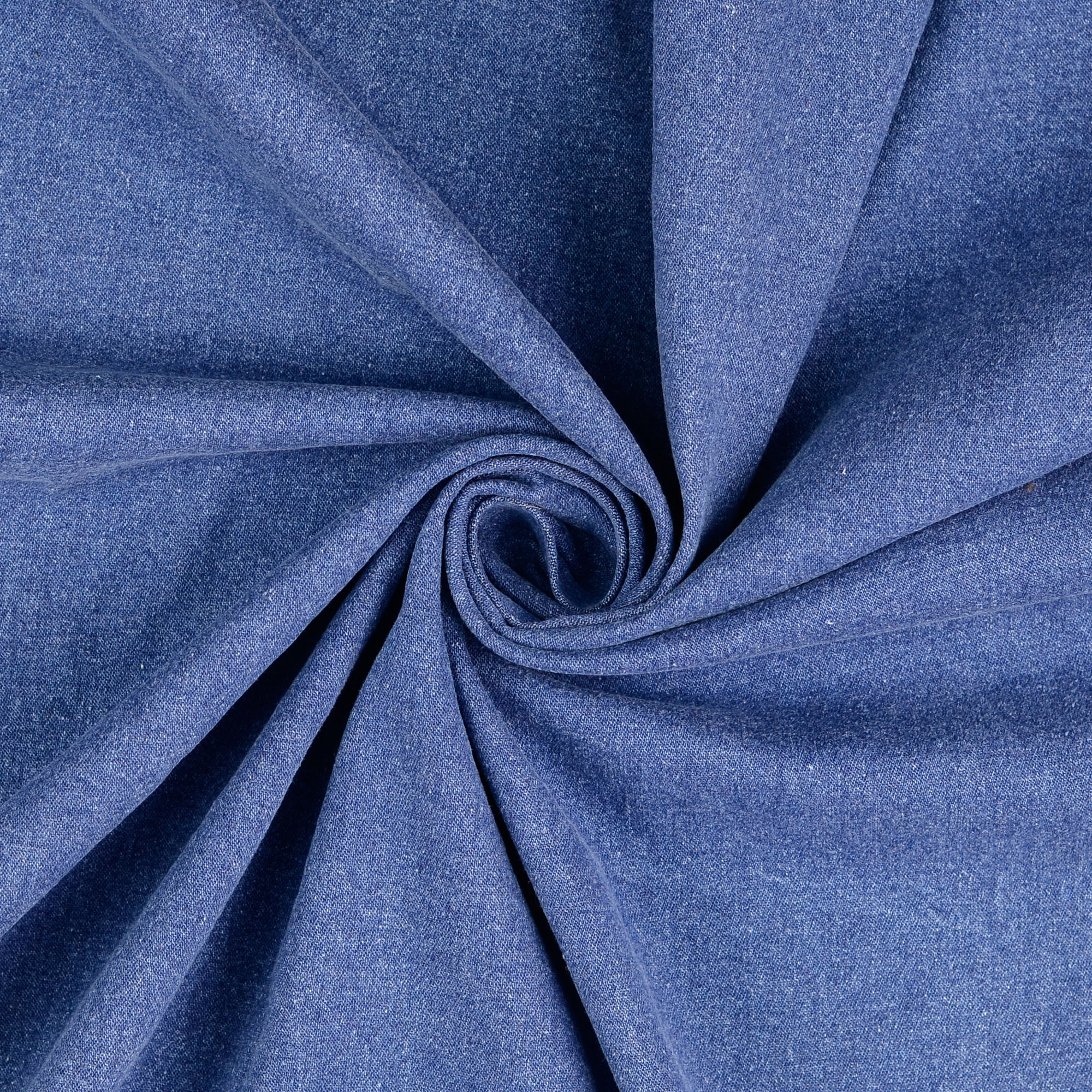 Jeans, uni, Blau