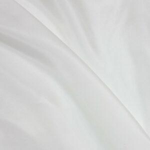 Seidenpongé, uni, Offwhite