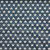 Gobelin, Sterne, Offwhite, Blau