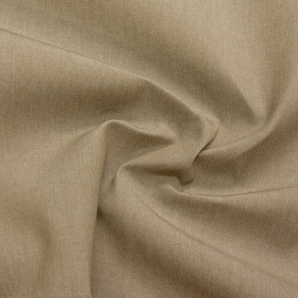 Outdoorstoff, bicolor, Taupe, Weiß