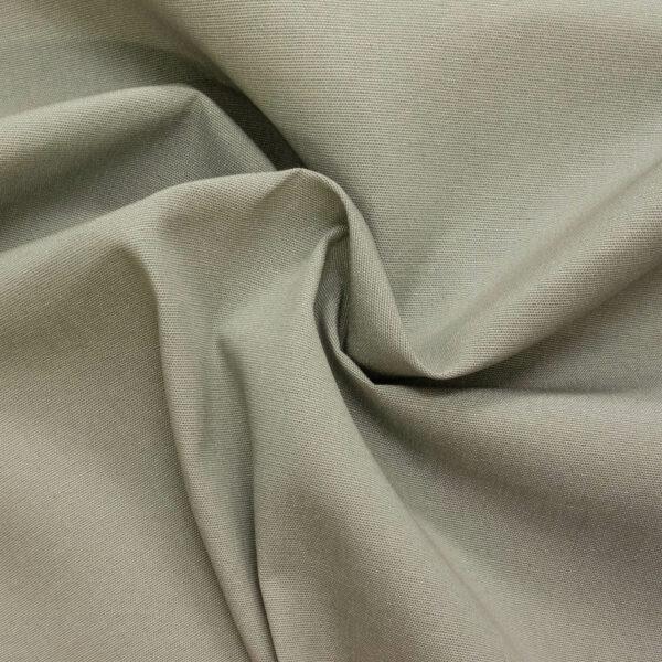 Outdoorstoff, bicolor, warmes Grau, Weiß