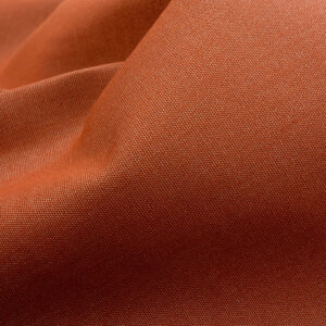 Outdoorstoff, bicolor, Terracotta, Weiß