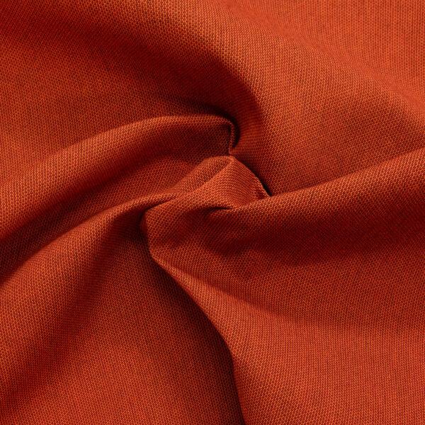 Outdoorstoff, bicolor, Rost, Orange dunkel