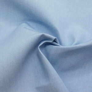 Outdoorstoff, bicolor, Hellblau, Weiß