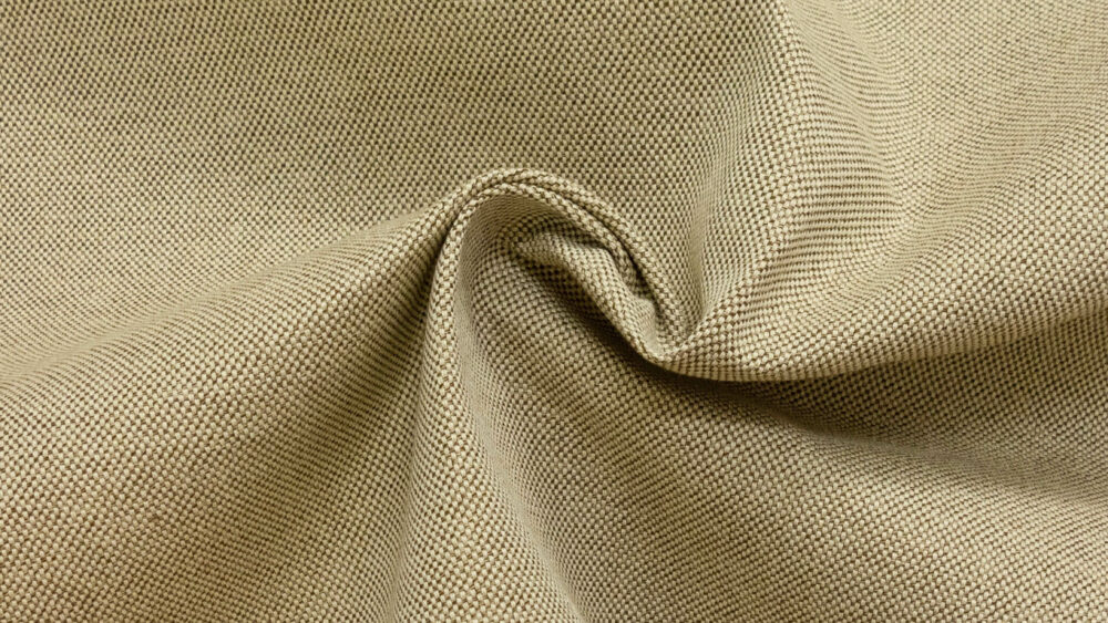 Outdoorstoff, bicolor, Natur, Taupe hell
