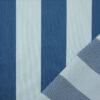 Outdoorstoff, Blockstreifen, Blautöne