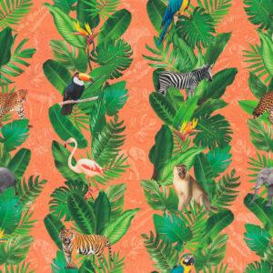 Markisenqualität, Flora und Fauna, Orange, Grüntöne