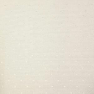 2,80m breiter Jacquard, gepunktet, Ecru