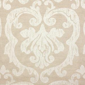2,80m breiter Jacquard, ornamental gemustert, Natur, Offwhite