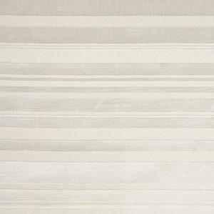 2,80m breiter Jacquard, gestreift, warmes Weiß