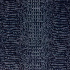 robuster Velour, Animalprint, Blautöne
