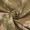 2,80m breiter Jacquard, ornamental gemustert, Creme, Beigetöne, Pastellgrün