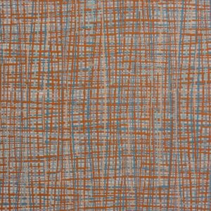 2,80m breiter Jacquard, Webmuster, Brauntöne, Blautöne