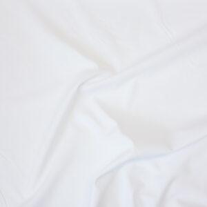 Batist, uni, Weiß