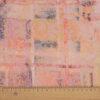 leichter Jacquard, Batik-Optik, Arabesken, Altrosa, Grau