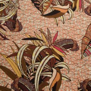 Javanaise, Blätter, Brauntöne, Aubergine