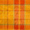 2,80m breiter Jacquard, Webkaro, Orangetöne, Grün