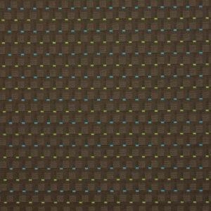 2,80m breiter Jacquard, Webstruktur, Creme, Braun, Blau, Grün