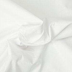 antibakterielle Popeline, uni, Weiß