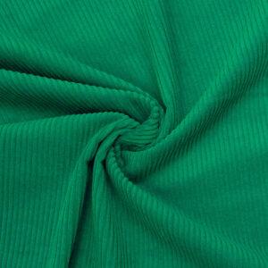 Breitcord, uni, Smaragdgrün