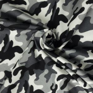 Feinköper, Camouflage, Grau, Weiß, Schwarz