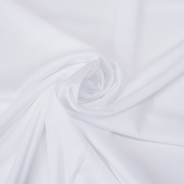 Lycra, uni, Weiß