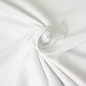 Jacquard, uni, Weiß
