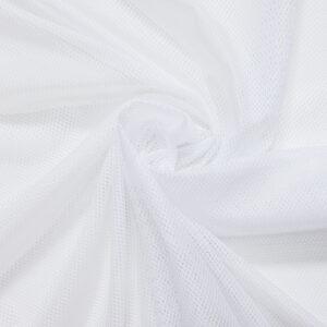 Netzfutter, uni, Weiß