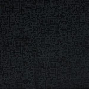 Kammgarn, grafisch gemustert, Schwarz, Anthrazit