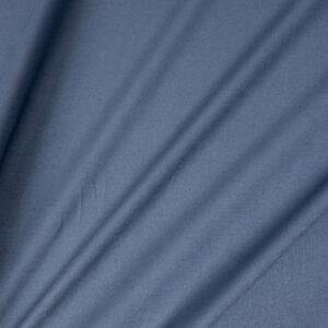 Voile, uni, Jeansblau