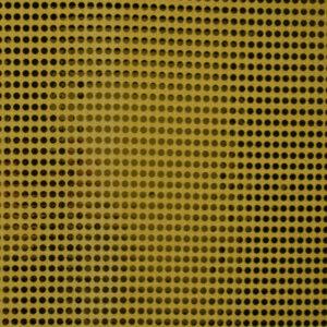 Paillette unterlegt mit Jersey, hochglänzend, Punkte, Gold