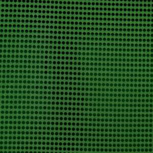 Paillette unterlegt mit Jersey, hochglänzend, Punkte, Tannengrün