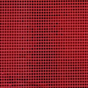 Paillette unterlegt mit Jersey, hochglänzend, Punkte, Rot