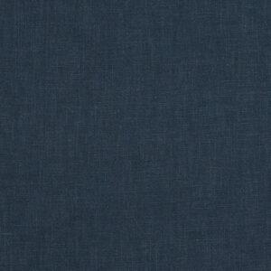 Leinen, uni, Preußischblau