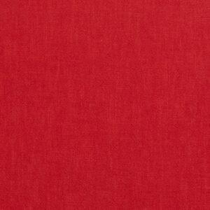Leinen, uni, Rot