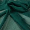 Seidenchiffon, uni, Tannengrün