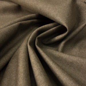 Flanell, meliert, Taupe hell